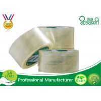 Eco - Friendly Bopp Self Adhesive Tape , Bopp Printed Tape For Office / Industrial