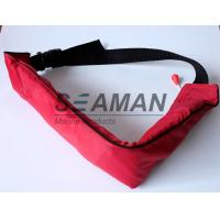 110N Manual Waist Bag Inflatable Life Belt PFD For Swimming , Boating , Sailing