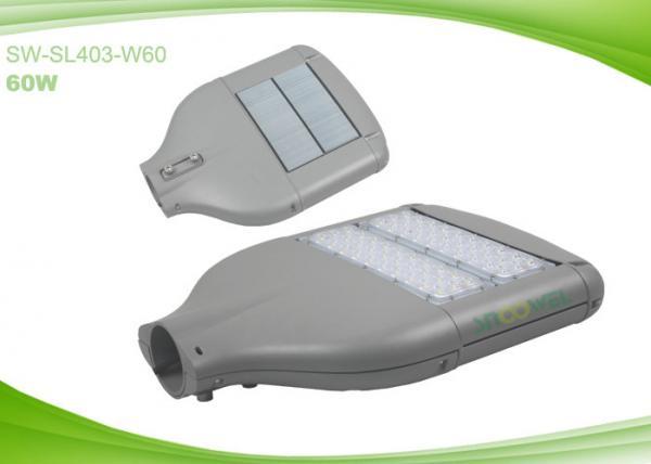Quality High Power LED Street Light Bulbs SMD 60W , LED Parking Lighting 50 / 60Hz 70Ra CRI for sale