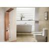 China Rose Gold Luxury Shower Panel , Easy Install Shower Panel Polished Surface Treatment wholesale