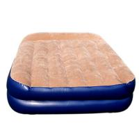 China PVC Flocking Covered Inflatable Air Beds , Portable Air Mattress on sale