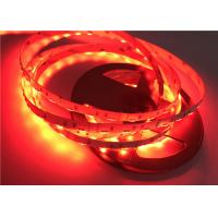 China RGB 020 SMD 60pcs / Meters Side Emitting Flexible Strip Lights With DC12V / DC24V on sale