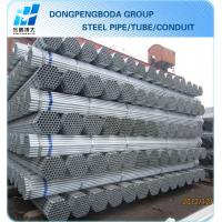 China Hot dipped galvanized steel tube China supplier made in China wholesale