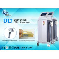 Painless 808nm Diode Laser Hair Removal Machine For whole Body Hair Reduction