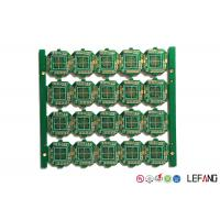 Buy cheap Controller Printed Circuit Board PCB 4 Layers 1.2mm Thickness ENIG Surface from wholesalers