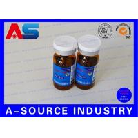 China RX 10ml Vial Labels Silver Foil Metallic Printing For Laboratory Injection Multiple-Dose Vial wholesale