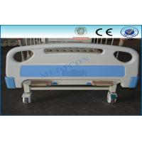 China 2 In 1 Triple Folding Adjustable Hospital Beds Medical Furnitures With 2 Crank wholesale
