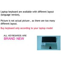 China Hot sale laptop keyboard for ACER 5810 PO / BR /SP layout wholesale