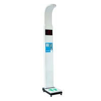 China ultrasonic probe led display measure the height digital weight scale wholesale