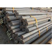 Quality Engineering Structural Solid Steel Bar , Round Shaped Solid Metal Rod for sale