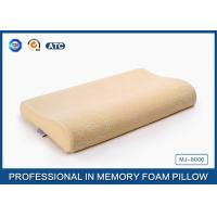 Airflow Contoured Urethan Memory Foam Toddler Pillow With Cotton Velour Cover