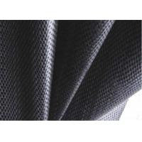 China PP Black Woven Geotextile , Soil Stabilization Fabric For Suppressing Weed on sale