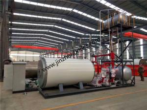China Horizontal Type Oil Gas Fired Thermal Fluid Heater For Textile Printing And Dyeing Industry wholesale