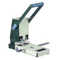 Buy cheap 300 Sheets Hole Punching Machine , 6mm Drill Bits Heavy Duty Hole Punch from wholesalers