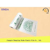 China Flat plastic regular duty garbage white large size bags eco-friendly industry use on sale