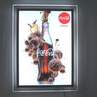 China Double Sided Outdoor LED Light Box Display Stand Vertical Lcd Panel For Hotel wholesale