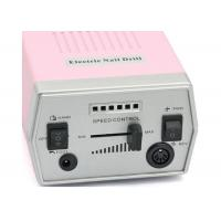 Plastic Electric Nail Drill File Machine With Foot Pedal Tool Pedicure 6 Bits