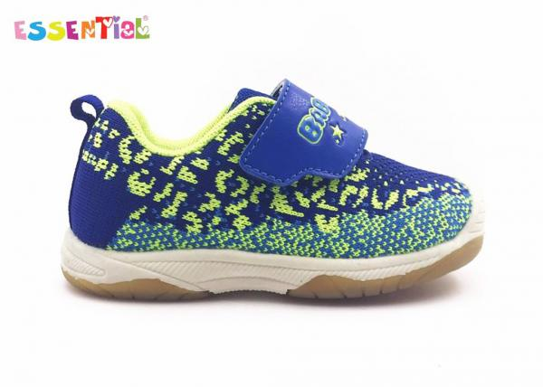 Quality Non Slipping Sole Childrens Sports Running Shoes Synthetic And Mesh Upper for sale