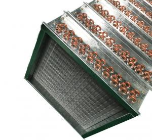 China Copper Tube Fin Type Air Heat Exchanger Hydroponic  6.35 mm wholesale