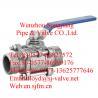 China male threaded ball valve(3pc) wholesale