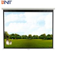 China 100 inch electric projection screen   with ultra-narrow edge wholesale