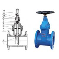 China RVHX\RVCX non rising stem resilient seated gate chemicals, power station valve wholesale