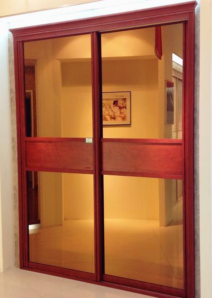 Wooden Sliding Folding Wardrobe Doors Images