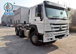 China Prime Mover Truck  Howo A7 Zz4257n3247c1 new tractor truck white color wholesale