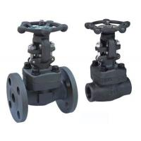 China BSPP A105N F11 Full Bore Y Pattern Globe Valve API602 For Petroleum Industry wholesale