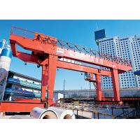 China Electric Double Beam Gantry Crane / Lifting Equipment  For Subway Construction wholesale