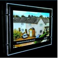 Metro Magnetic Crystal Slim Ultra Thin Light Box For Advertising A3 size