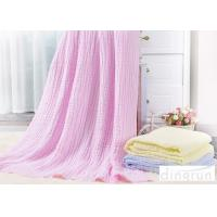 China Ultra Soft Gauze Cotton Bath Towels Quick Drying Skin - Friendly For Baby wholesale