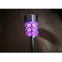 Buy cheap Colour Changing Solar Stake Lights Waterproof For Garden Path , Environmentally from wholesalers