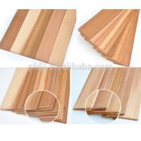 China Customized Size Wood Sawn Timber Western Red Cedar Wall Wood wholesale
