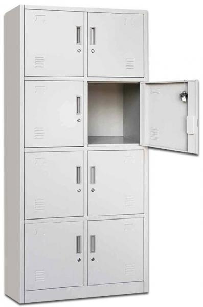 Quality 8 Door Metal Locker/Steel Locker/ Storage Locker for sale
