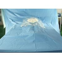 China Hospital Sterile Surgical Drapes Cesarean Delivery Fenestration With Surgical Film wholesale