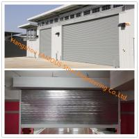 China Fire Prevention Motorized Folding Doors American Standard Fire Resistance Steel Sliding Door wholesale