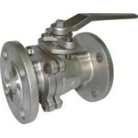 China 2pcs FP flanged end ss ball valve on sale