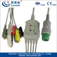 China Medical 5 Lead ECG Patient Cable IEC With ISO 13485 Certified wholesale