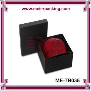 China Top and bottom paper hat box, custom baseball hat packaging box, cardboard box ME-TB035 on sale