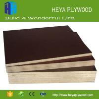 China 2018 cheap polypropylene faced concrete formwork plywood with veneer wall panel wholesale