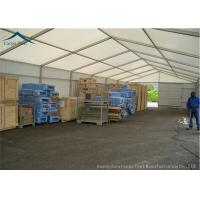 China Aluminum 30m*50m Storage White Canopy Tent Clear Top Tents 80-100km/H wholesale