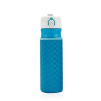 China Factory Wholesale Custom Glass Hot Water Bottle Cover Outdoor wholesale