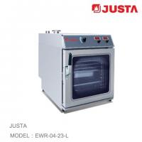 China JUSTA Electric Pizza Oven 4 Tray Combi Steamer Digital Control System wholesale