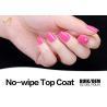 China Environmental Friendly UV Top Coat Nail Polish No Yellowish OEM & ODM Availabe wholesale