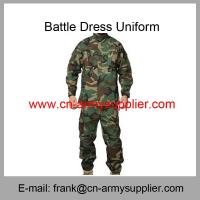China Wholesale Cheap China Military Woodland Camouflage Police Army Combat Uniform ACU on sale