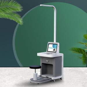 China A4 Laser Printer Self Service Health Check Kiosk Blood Pressure health kiosk machine wholesale