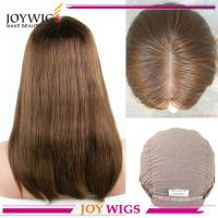 China Silk top glueless wig Top quality wholesale european jewish wig kosher wigs wholesale