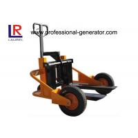 China Outdoor Warehouse Material Handling Equipment 1T Terrain Pallet Truck With Air Rubber Wheel wholesale