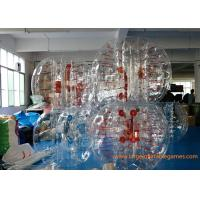 China Skill Printing Inflatable bumper balls for adults / Entertainment inflatable body bumpers wholesale